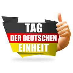 Tag der deutschen Einheit! Button, Icon