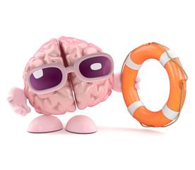 Brain comes to the rescue