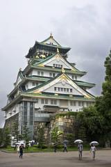 castle japanese osaka