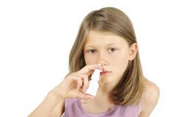 Erkältetes Kind