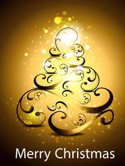 Christmas tree backgorund
