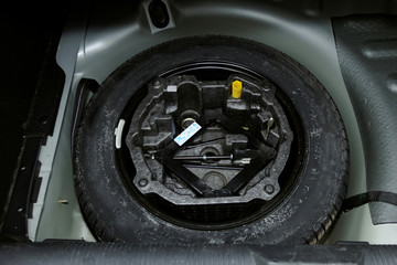 car tire changign set
