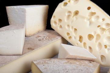 gamme de fromage en plateau