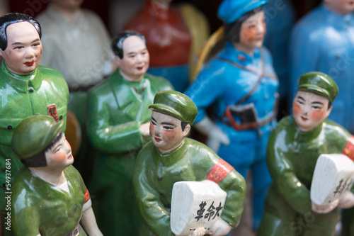 Little chinese tin slodiers