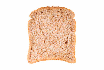 Slice of wholemeal bread