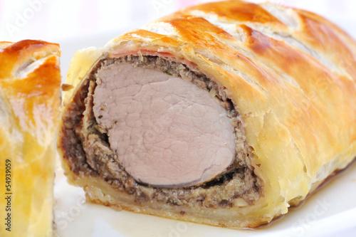 Wellington Pork tenderloin