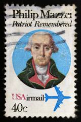 Philip Mazzei patriot remembered USA stamp
