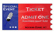 Ticket for event