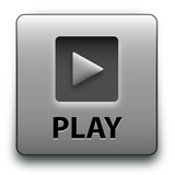 """PLAY"" Web Button (launch video watch live media player music)"