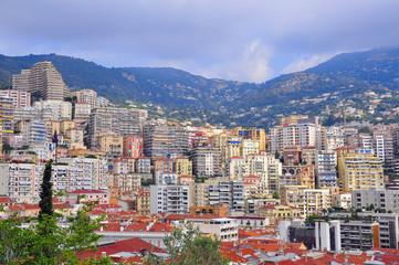 Monte-Carlo cityscape