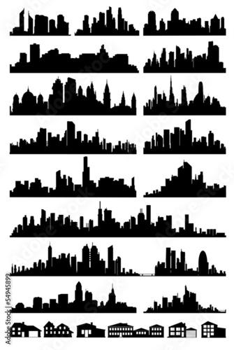 wektor panoramę miasta