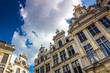 brussels grand place guild houses