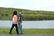 Young Couple Walking Together