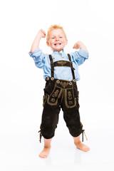Kleiner Junge mit Lederhose - Trachtenmode