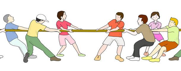 綱引き競技