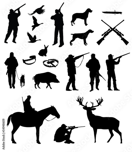 Hunting vector set