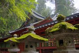 Futarasan Shrine, Nikko, Japan.UNESCO World Heritage Site