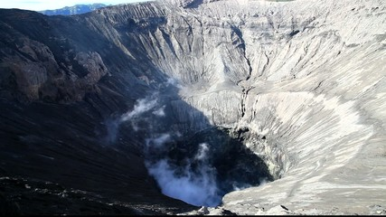 Creater of Bromo vocalno, East Java, Indonesia