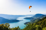 View of the Annecy lake from  Col du Forclaz - Fine Art prints