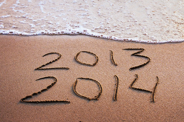 happy new year 2013 - 2014