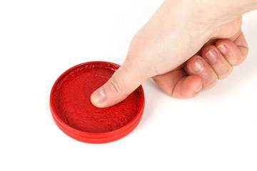 fingermark
