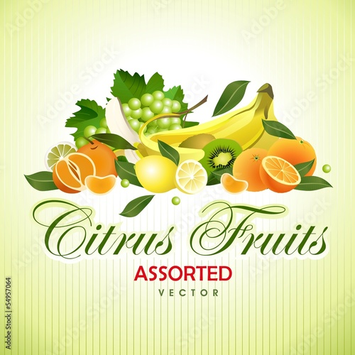 Citrus Fruits. Assorted
