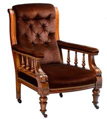 Vintage oak gentleman's armchair