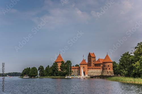 Fototapeten,architektur,baltics,blau,boot