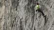 rock climber falls off cliff