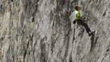 rock climber falls off cliff