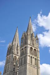 Flèches de l'Abbaye aux Hommes, Caen