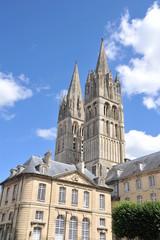 Flèches de l'Abbaye aux Hommes 2, Caen