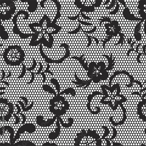 koronkowy-czarny-bezszwowy-wzor-z-kwiatami-na-bialym-tle