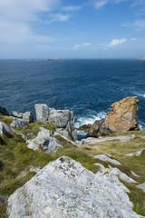 rocky coastline - Brittany, France