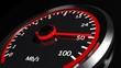 Leinwandbild Motiv Internet speed