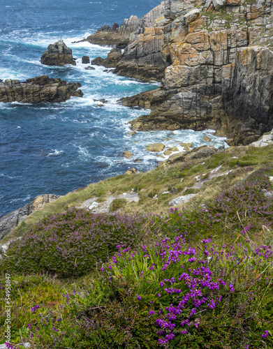 coastal cliffs - Brittany France