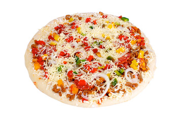 pizza industrielle prête a cuire