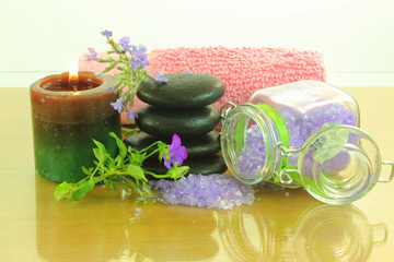 spa lavender therapy