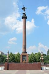 Памятник солдатам правопорядка на Трубной площади в Москве