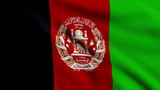 Flag of Afghanistan looping