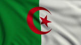 Flag of Algeria looping