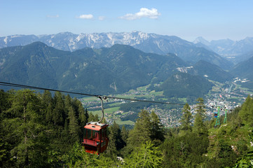 Cable way in Austria