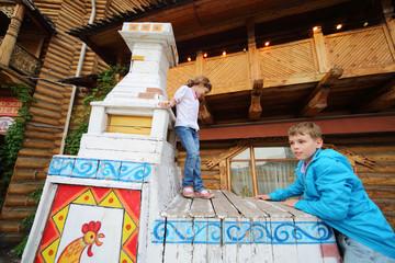 Children in entertainment center Kremlin