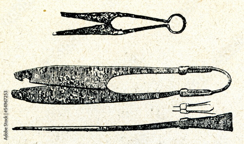 Ancient blade shears