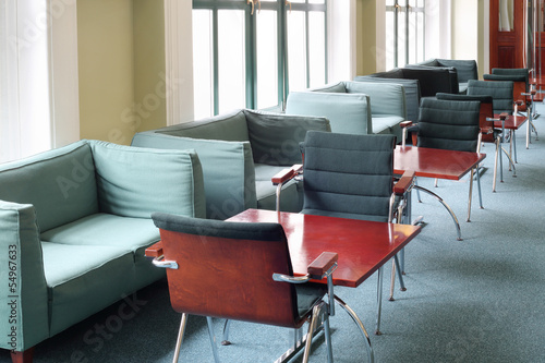 Sofas and tables
