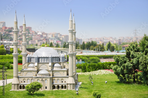 Selimiye Mosque model in Miniaturk Museum