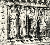 Sculptures of Reims Cathedral (France)