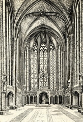 Interior of Reims Cathedral (France)