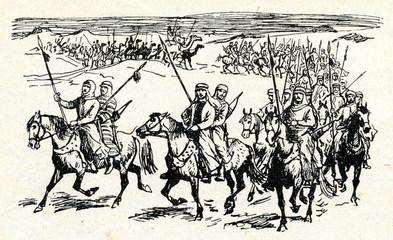 Arab warriors (8 century)