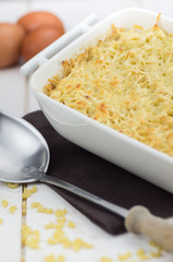 gratin de pâtes en plat 3